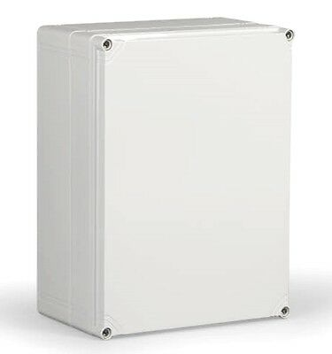 Electrical Enclosure NEMA 4X Polycarbonate 16x12x7 Waterproof Real Nice Box