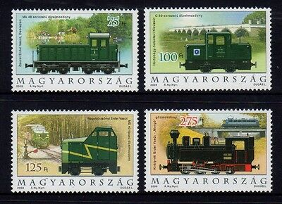 Hungary 2009 Narrow Gauge Set 4 MNH