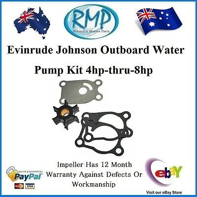 A New Water Pump Kit For Evinrude Johnson 4hp-thru-8hp 2/Strokes  # R 396644