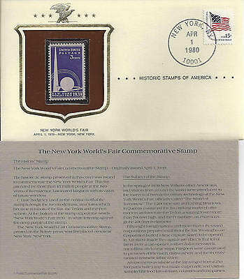Historic Stamps of America NEW YORK WORLDS FAIR Commemorative Stamp