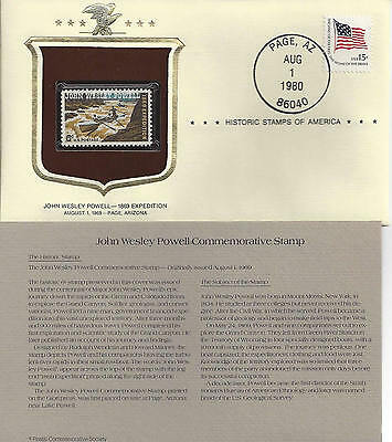 Historic Stamps of America JOHN WESLEY POWELL Commemorative 1869 EXPEDITION