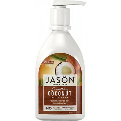 Jason Smoothing Coconut Body Wash in Pump Bottle 887ml