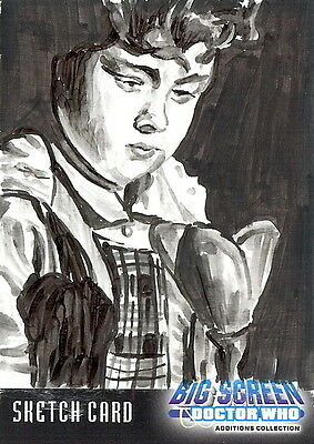 Dr Doctor Who Big Screen Additions Sketch Card by Chris Henderson /6