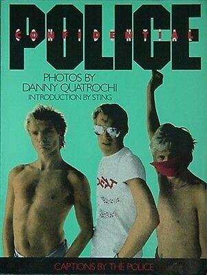 Police Confidential, 1986 Book W/ Poster (Sting +
