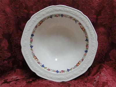 Crown Ducal Florentine Garden, Fruit (Crazing): Round Vegetable Bowl (s) 9""
