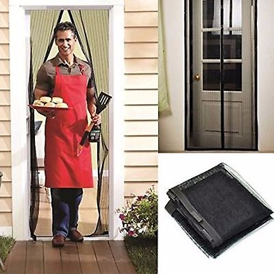 Magic Mesh Hands-Free Screen Door magnets AS SEEN ON TV Anti-bug fly without box