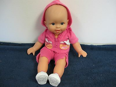 Fisher Price Little Mommy Doll Cloth Body  Pink  Outfit  2006 Mattel 1 Tooth