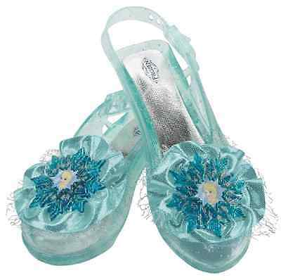 Elsa Shoes Disney Frozen Princess Fancy Dress Halloween Child Costume Accessory