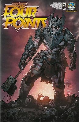 The Four Points #2. Cvr A (Aspen Comics) Boarded. Free Uk P+P! New! Last1