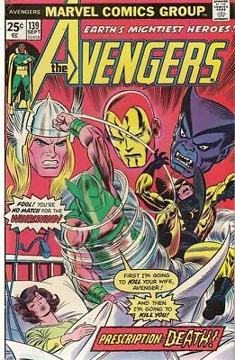 The Avengers #139 Sept 1975 (Marvel Comics)