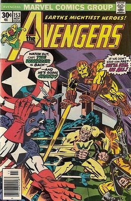 The Avengers #153 November 1976 (Marvel Comics)