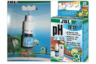 JBL pH Test 3.0 - 10.00   Fast test to measure acidity of water