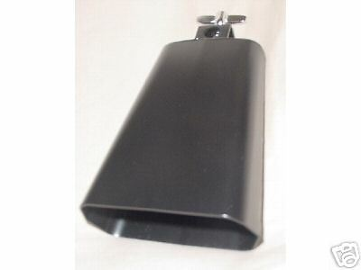 """6 """" NEW COWBELL & CLAMP MORE COW BELL NEED 4 DRUM SET MUSICAL CLASSIC ROCK BAND"""