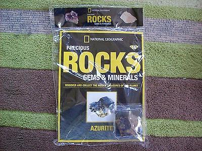 National Geographic Precious Rocks Gems & Minerals Magazine Issue 16 Azurite