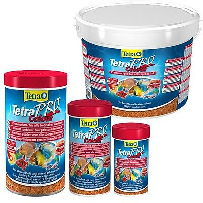 TETRA PRO Colour *PROCOLOUR* All Sizes In original tub
