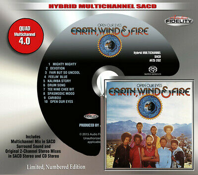 AFZ 202 | Earth, Wind & Fire - Open Our Eyes SACD