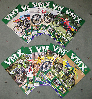 VMX Magazine Back Issue Pack 2 - Select 15 Back Issues of VMX Magazine!