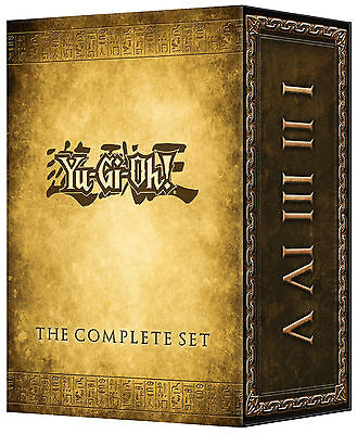 Yu-Gi-Oh! The Complete Set DVD (2014) 32-Disc Set * Brand New * Series Classic