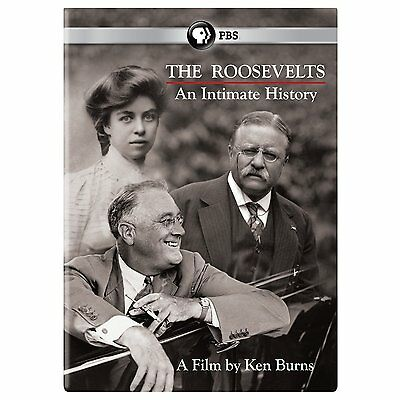 The Roosevelts - An Intimate History DVD PBS (2014) Brand New Ken Burns 7-Disc
