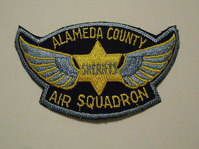 Alameda County California Sheriff Air Squadron Patch