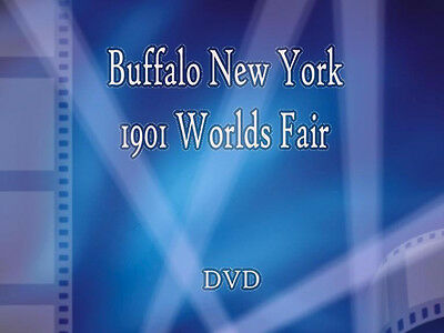 Buffalo NY 1901 WORLDS FAIR Video * DVD *
