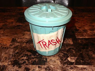 Alice Cooper Rare Promo Prop Trash Can 1989 Classic Rock Promotional Collectable
