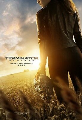 Terminator Genisys - original DS movie poster - 27x40 D/S ADVANCE