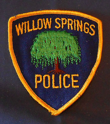 Willow Springs, Illinois Police Shoulder Patch (invp3534)