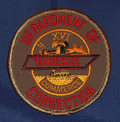 Tennessee Dept. of Correction Police Shoulder Patch (invp4286)
