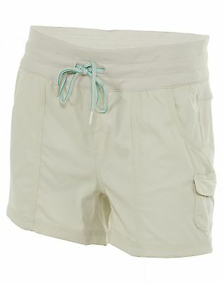 North Face Aphrodite Pull On Shorts Womens CFQ6-V5T Moonstruck Grey Wmns Size L