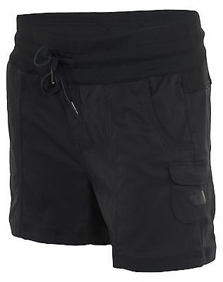 North Face Aphrodite Pull On Shorts Womens CFQ6-JK3 Tnf Black Shorts Wmns Size L