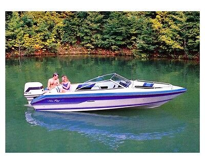 1988 Sea Ray Seville 18 Bow Rider Outboard Power Boat Factory Photo ud2171