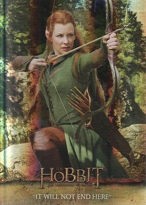 2015 The Hobbit Desolation of Smaug Silver Foil Parallel Trading Card #42