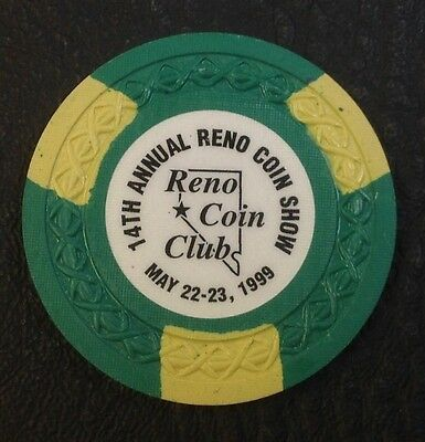 Sands Regency $2.50 Casino Chip Reno Nv Wave Mold 1999 Coin Club  Free Shipping