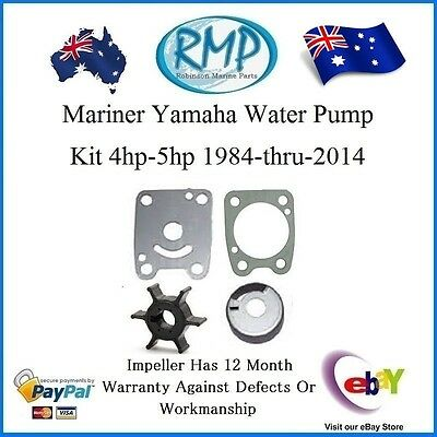 A New Water Pump Kit Yamaha Mariner Outboards 4hp-5hp 1984-2014 # R 6EO-Kit