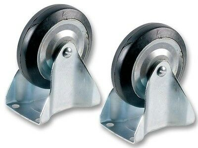 Duratool Wheel Spare Fixed Pair Pack of 2 D00328