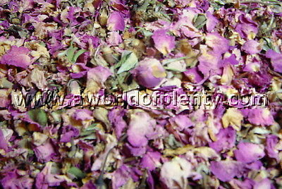 Rosebuds and Petals, Pink - Potpourri, Ingredients - 12-6-4-2-1 oz