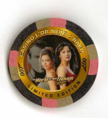 James Bond The World Is Not Enough Casino Chip C3 from Inkworks