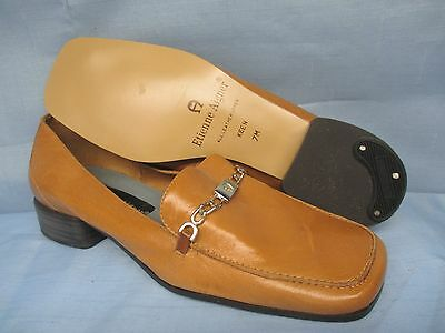 Womens Shoes ETIENNE AIGNER  Size 7 M BRITISH TAN LOAFER  NWOT