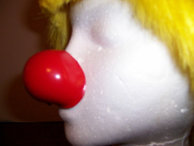Professional Clown nose ProKnows Glossy Red Foam Filled Nose