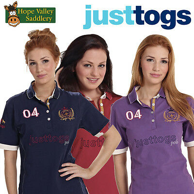 Just Togs Benville Ladies Polo Shirt **BNWT** **Free UK Shipping**
