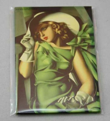Magnet Pin Kuhlschrankmagnet Lempicka Young Lady with gloves