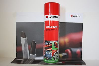 WURTH ULTRA 20/40 MAINTENANCE SPRAY LUBRICANT 500ml New