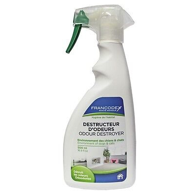 FRANCODEX*Odour destroyer*Environment of dogs and cats. 500ml