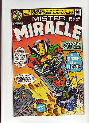Mister Miracle #1 VG 1971 DC Comic Kirby