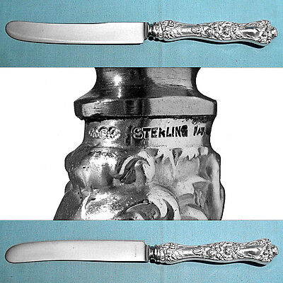 "Shiebler Sterling 10 1/8"" New French Hollow Knife(S) ~ American Beauty ~ No Mono"