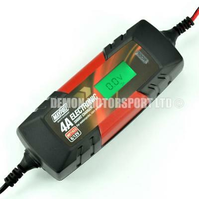 Motorbike, Car Battery Charger Optimizer Fast ,Trickle, Pulse & Recovery Modes