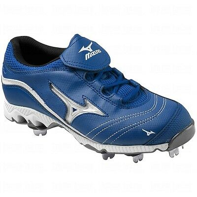 Mizuno Swift G2 Switch Women's Softball Cleats NIB Royal/White Various Sizes