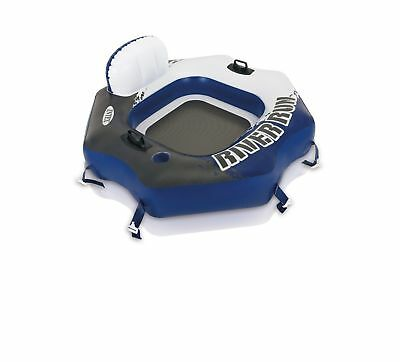 Intex River Run Connect Tube Inflatable Pool Float Raft Connecting Lounge