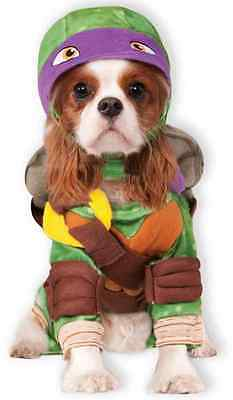 Donatello TMNT Teenage Mutant Ninja Turtles Dress Up Halloween Pet Dog Costume